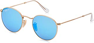 Ray-Ban RB3447N Round Metal Sunglasses