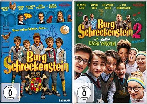 Burg Schreckenstein - Kinofilm 1+2 im Set - Deutsche Originalware [2 DVDs]