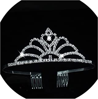 Fashion Tiaras and Crowns Hair Band Women Wedding Crown Bride Accessories Jewelry Headband Hoop Tiara For Lovely Girl,8