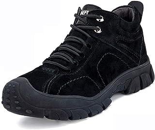 Chaussure Securite Homme Legere Chaussures d'assurance-travail d'hiver Haute Top Tête en acier chaussures sécurité Chaussu...