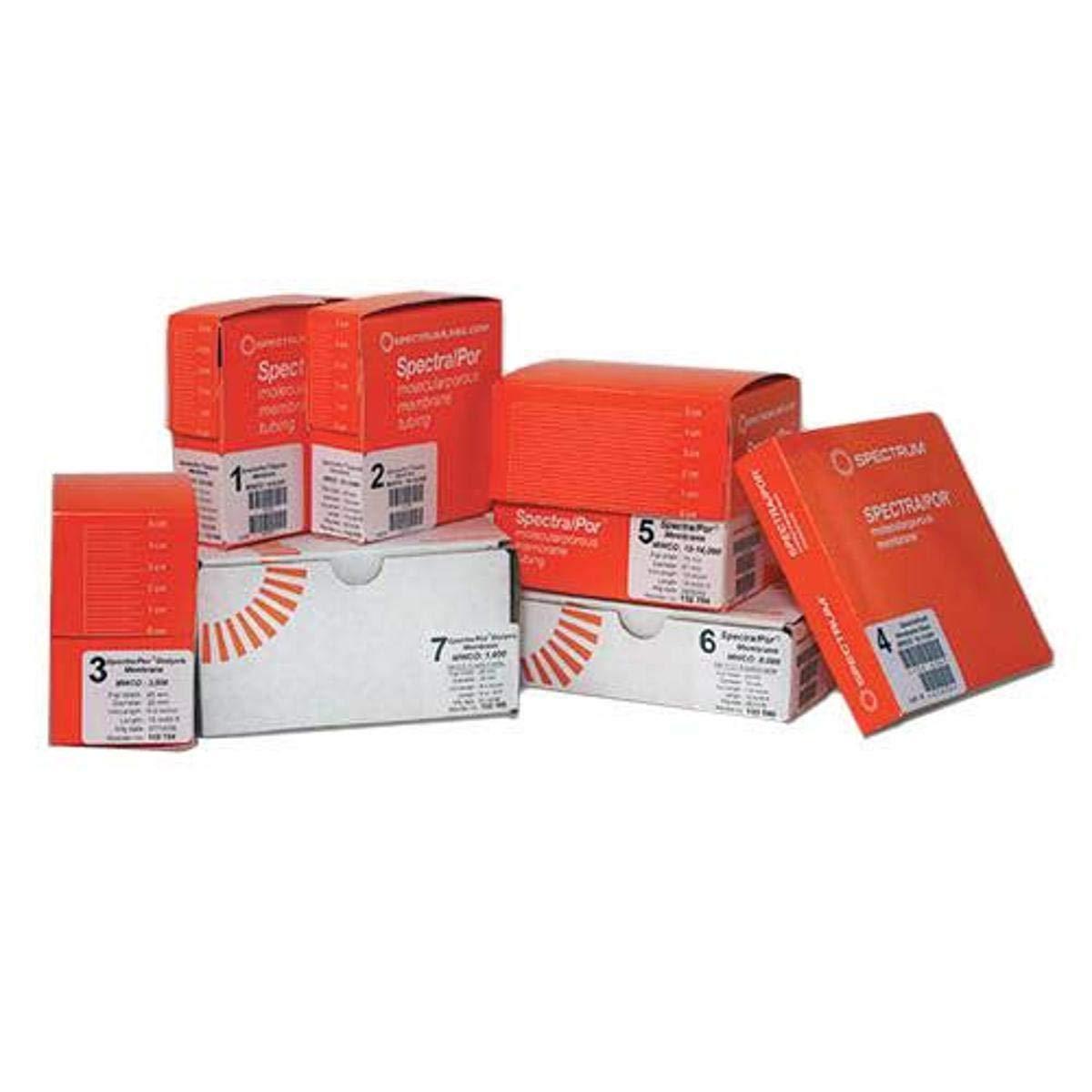 New sales Spectrum Department store 132560 Multi-Purpose Dialysis Tubing 15000 mm 10 MWCO
