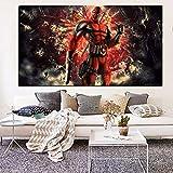 UIOLK Impresión en HD Arte de Pared cómics película de superhéroe Lienzo Pintura al óleo Cuadros de Pared modulares Sala de Estar sofá decoración