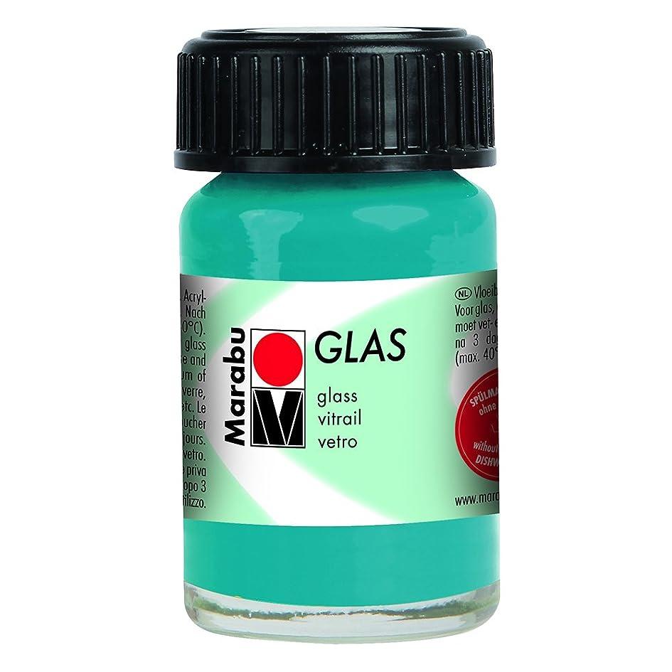 厚いパッケージ六月Marabu Glas?–?Petrol 15?ml