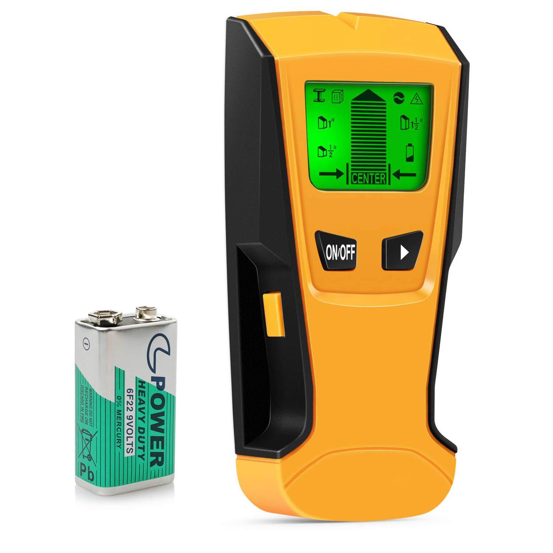 5 en 1 Electronic Stud Détecteur Localisateur mur LCD Stud Finder Capteur Mur Scanner