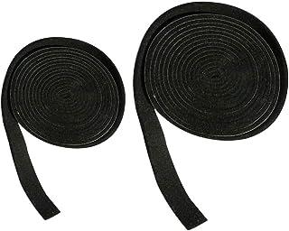 Hemoton 2 rullar tätningsband kök ränder 3 mm tjock kokplatta platta tätningstejp temperaturbeständighet BBQ rökare tätnin...