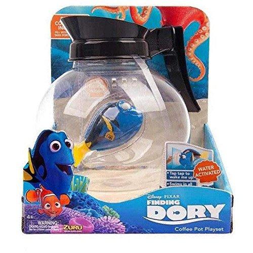 Disney Pixar – Alla Ricerca di Dory – Caffettiera con Dory che Nuota – 1 Personaggio + Accessori