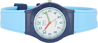 Q&Q Women's White Dial Rubber Band Watch - VR75J003Y