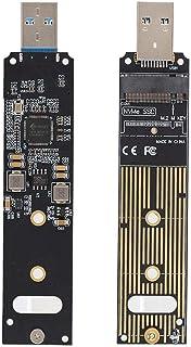 M.2 NVME a USB HDD Riser Card M.2 NVME SSD a USB Tarjeta de Adaptador Tarjeta de convertidor de Disco Duro para recuperación de Alta Velocidad