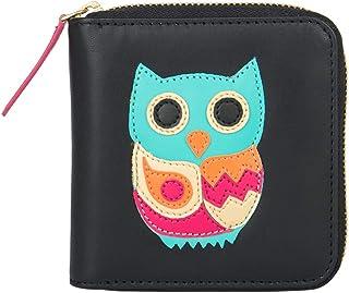 Chumbak Owl Mini Wallet - Black