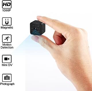Mini Spy Camera Hidden Camera HoHoProv HD 1080P Portable Mini Nanny Cam Security Camera with Motion Detection and Night Vision
