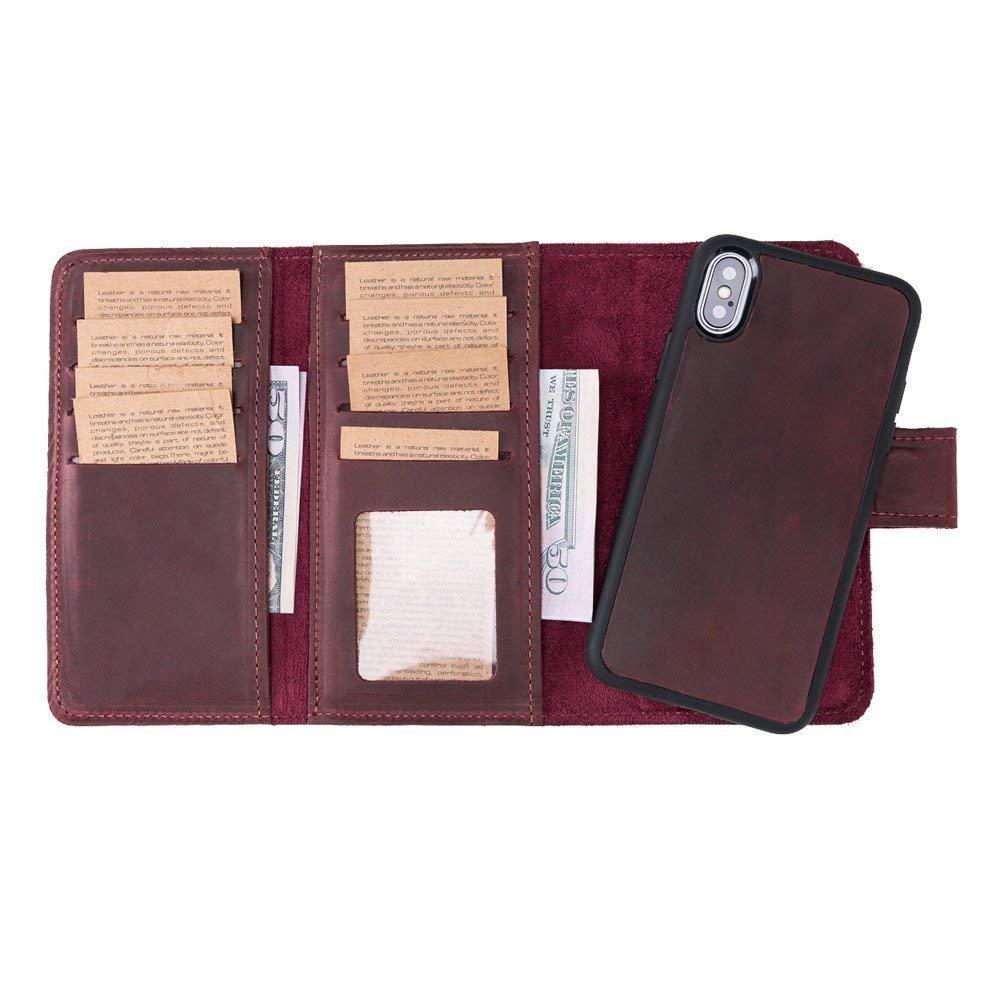 iPhone X Leather Case Wallet De Cheap mail order [Alternative dealer] sales