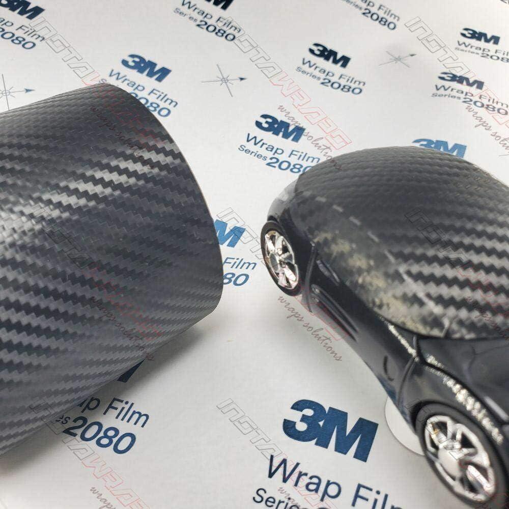 3M 1080 Black Limited price Carbon Fiber CFS12 CAR Film Vinyl Sample Max 87% OFF WRAP