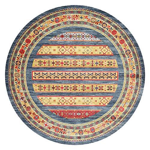 WJW-DT Gelber Grauer roter Teppich Nordische Teppiche im ethnischen Stil 80 100 120 140 160 180 200 cm Wohnzimmer Esszimmer Schlafzimmer Teppich-120cm