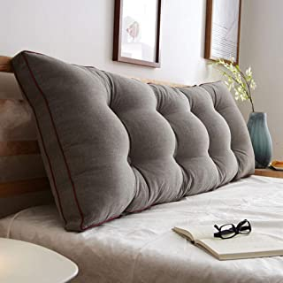 Grand coussin souple en coton lavable Grand coussin lavable à dos grand (Couleur : B, taille : XXL)