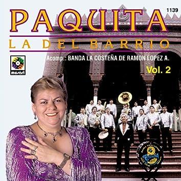 Paquita La Del Barrio Con Banda La Costeña