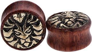 Amazon.es: piercing oreja madera - Mujer: Joyería