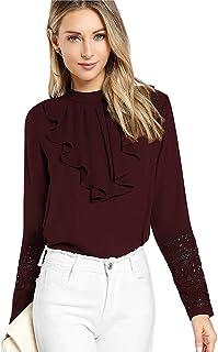 c70afa7d1017bd Long Sleeve Women's Tops: Buy Long Sleeve Women's Tops online at ...