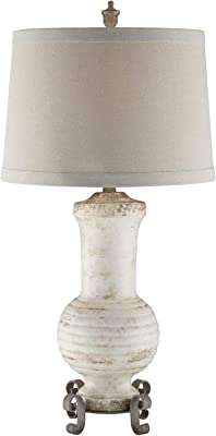 Crestview Collection CVAP1871SNG Andrea Table Lamp Lighting