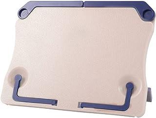 Homyl Pupitre de Musique Pliable Support Base Table Accessoire Livre de Mote Musical Kit dinstallation Bleu