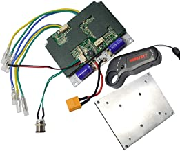 Hobbysky 24V/36V Single/Dual Motor Drive Brushless Hub Motor Electric Speed Controller ESC & 2.4G Radio Transmitter Receiver Remote Control Electric Skateboard Longboard