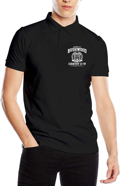 Jingbobaihuodian Property of Bushwood Country Club Man's Polo Shirts Short Sleeve Classic T-Shirt