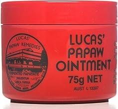 Lucas Papaw ungüento 75g, actualidad aplicación para hierve, quemaduras, chafings, heridas abiertas, picaduras de insectos y pañal erupción fabricado en Australia