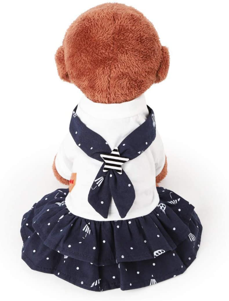 XYSQWZ Summer Pet Clothes Dog Navy Cute Puppy National products Max 83% OFF Shorts Lovers Prin