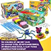 Creative Kids Air Dry Clay Modeling Crafts Kit - Super Light Nontoxic - 50 Vibrant Colors & 6 Clay Tools - STEM Educational DIY Molding Set - Easy Instructions – Gift for Boys & Girls 3+ (50 Pack) #5
