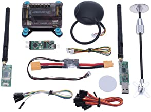 GoolRC APM 2.8 V2.8 ArduPilot UAV Flight Controller & Neo-6M & GPS Antenna Foldable Stand Amount & Power Module & 915Mhz Radio Telemetry Transmision