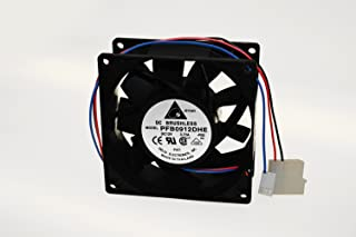 DELTA Extreme High Airflow FAN 12VDC 80x38 mm FFB0812EHE-F00 3 WIRE 1.35A