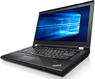 Lenovo ThinkPad T420 Laptop Webcam - i5 2.50ghz - 8GB DDR3-128GB - DVDRW - Windows 10 Home 64bit -, Black (Renewed)
