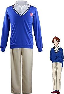 DONGYAO Disfraz de anime WONDER EGG PRIORITY Momoe Sawaki Cosplay disfraz sudadera con capucha sudadera para cosplay de Ha...