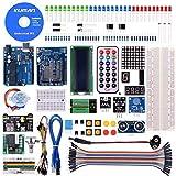 kuman Super Starter Kit per ArduinoIDE Mega2560, Mega328 e Nano con Tutorial in Italiano per Principianti K4