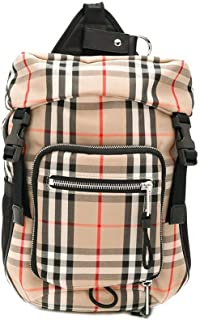 Luxury Fashion | Burberry Mens 8014430 Beige Backpack | Fall Winter 19