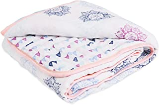 Aden By Aden And Anais Pretty Pink Medallion Muslin Dream Blanket, Pink