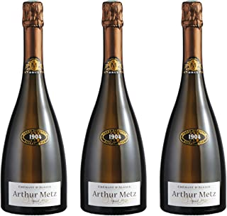 Arthur Metz Cremant - Pack de 3 Botellas x 0.75 l - Total: 2.25 l