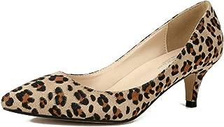 Best kitten heel leopard pumps Reviews