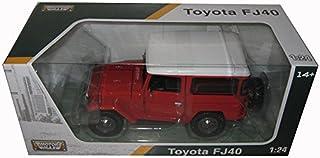 Motormax Toyota FJ40 1/24 Scale Diecast Vehicle Red