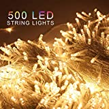 ZOIC 500 LED Christmas Wedding Party Fairy String Lights Lamp 100 Meters (328 feet) 8 Modes 31V...