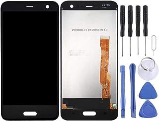 شاشة LCD ومحول رقمي من Mrhntrf مجموعة كاملة لهاتف HTC U11 Lite