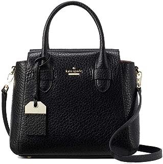 Kate Spade Carter Kylie Black Leather Small Satchel Women's Handbag