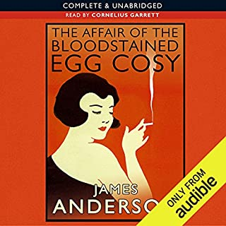 The Affair of the Bloodstained Egg Cosy Titelbild