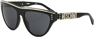 Moschino Women's Sonnenbrille Mos002/S-807-56 Damen Sunglasses, Black (Schwarz), 56