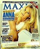 Maxim Magazine Anna Kournikova