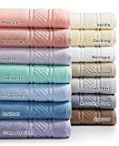 Martha Stewart Collection 100% Cotton Spa Bath Towel Collection (Rowboat)