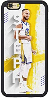 Curry Basketball Phone Case for iPhone6/6S Hard Black Transparent Anti Scratch