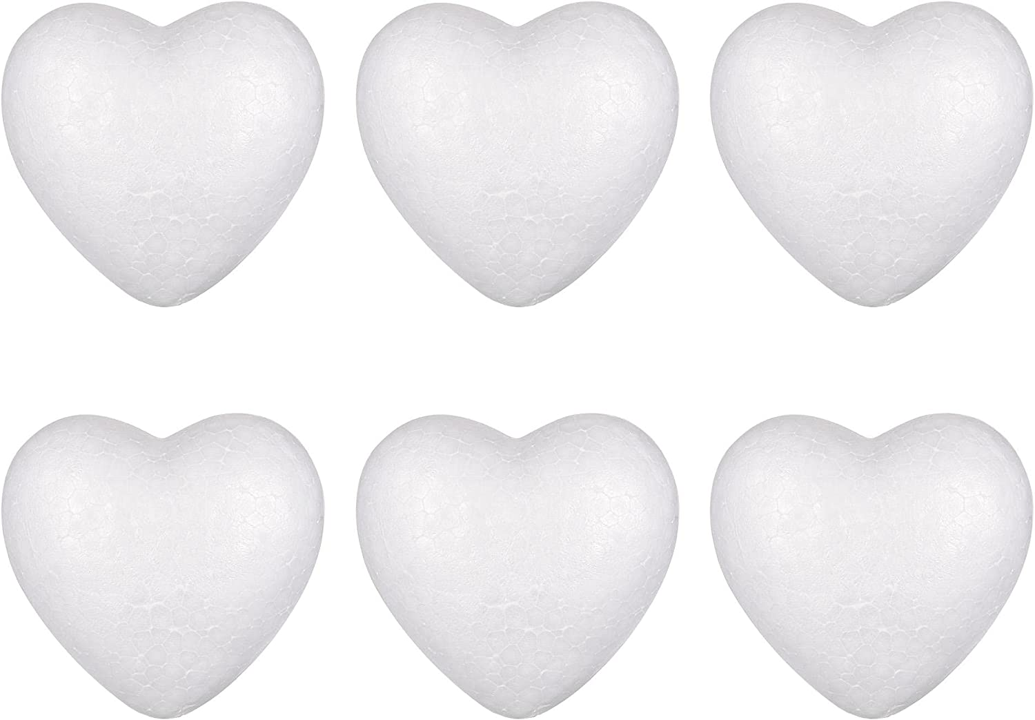 uxcell Polystyrene Heart Foam Ball Height for Art 10cm Ranking TOP8 Solid Sale SALE% OFF DIY