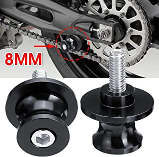 Hitommy 6mm Motorcycle Aluminum Swing Arm Paddocks Stand Bobbins Sliders Spools Gold Car Accessories