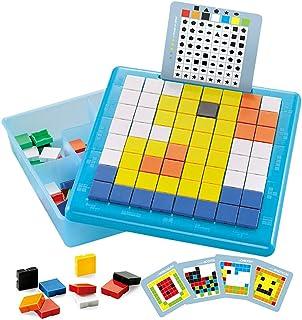 ZoneYan 175 Pièces Jeux de Mosaïque Créatif, Jouet de Puzzle Éducatif, Creative Mosaique Puzzle, Mosaique Puzzle 3D, Puzzl...