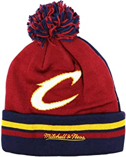 19c6243bc86 Mitchell   Ness NBA Change Up 2 Faced Cuffed Knit with Pom Hat